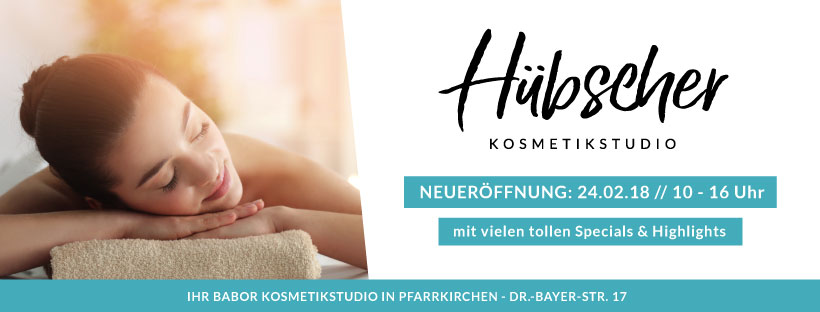 Neueröffnung Kosmetikstudio Pfarrkirchen