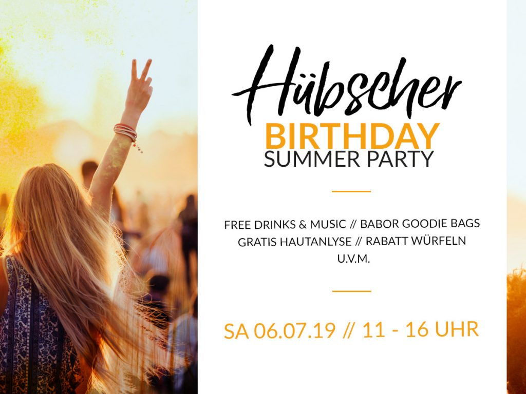 Hübscher Birthday Summer Party